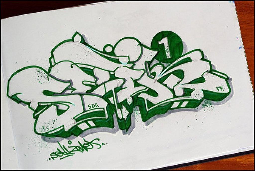 Картинки в стиле граффити карандашом, открытку телефон
