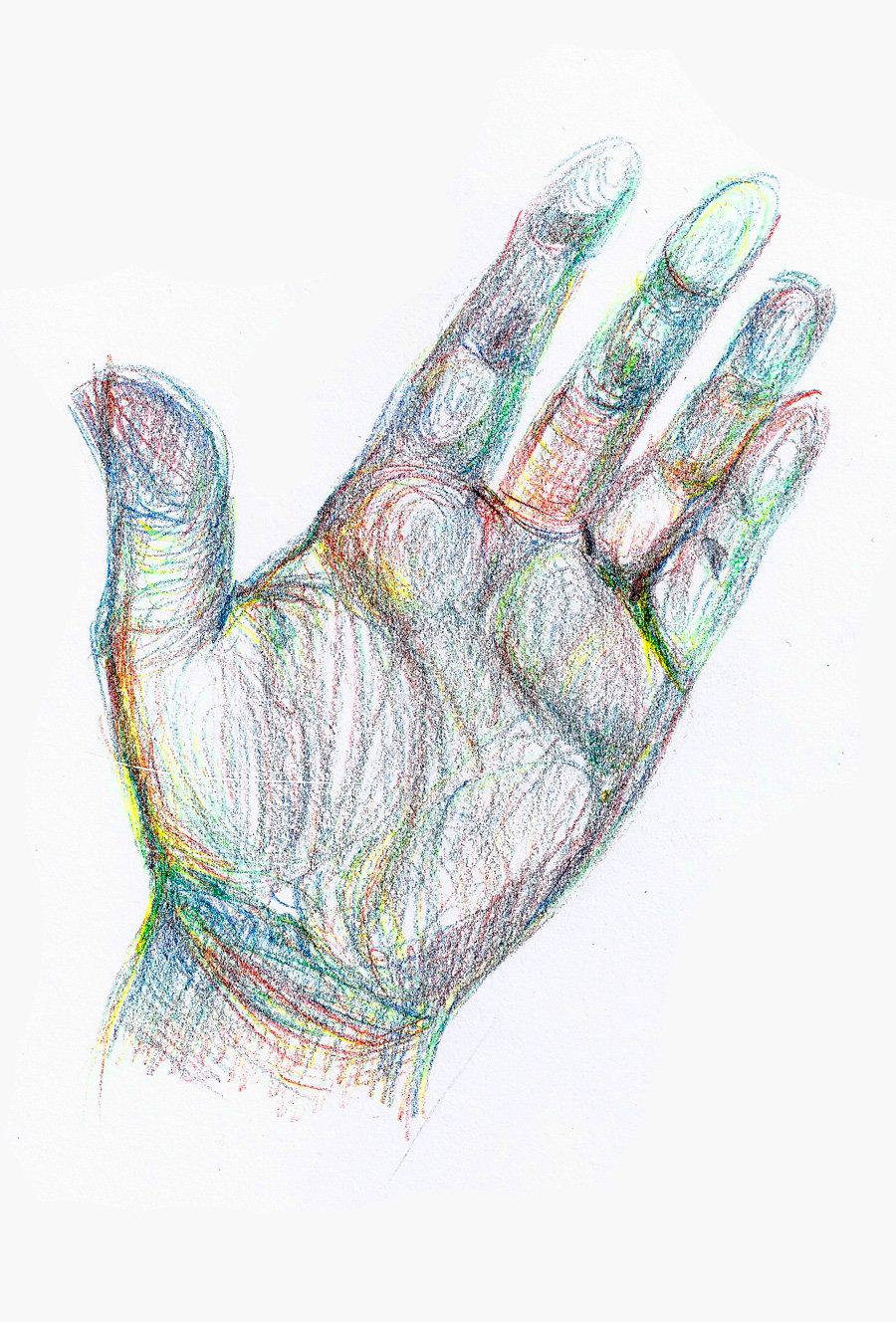 чем рисунок ладони руки том