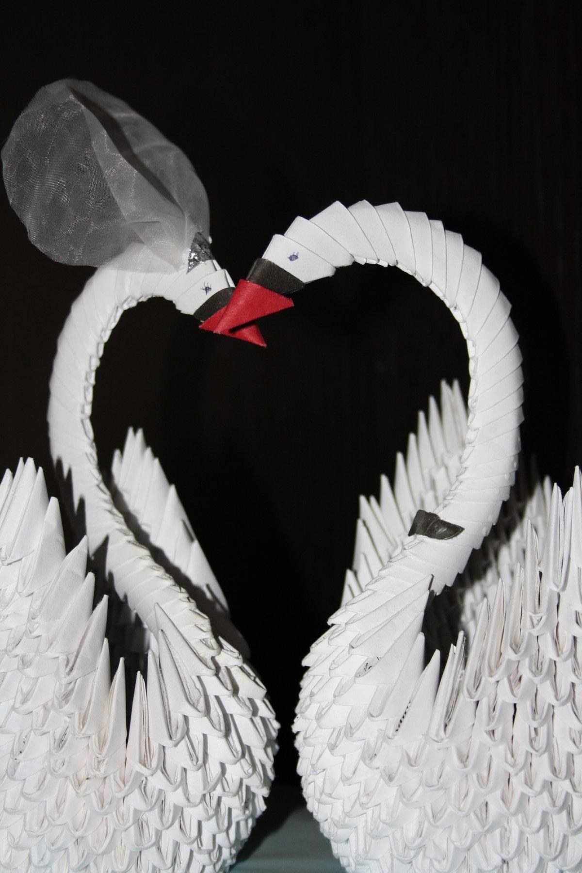 Картинки как сделать лебедя
