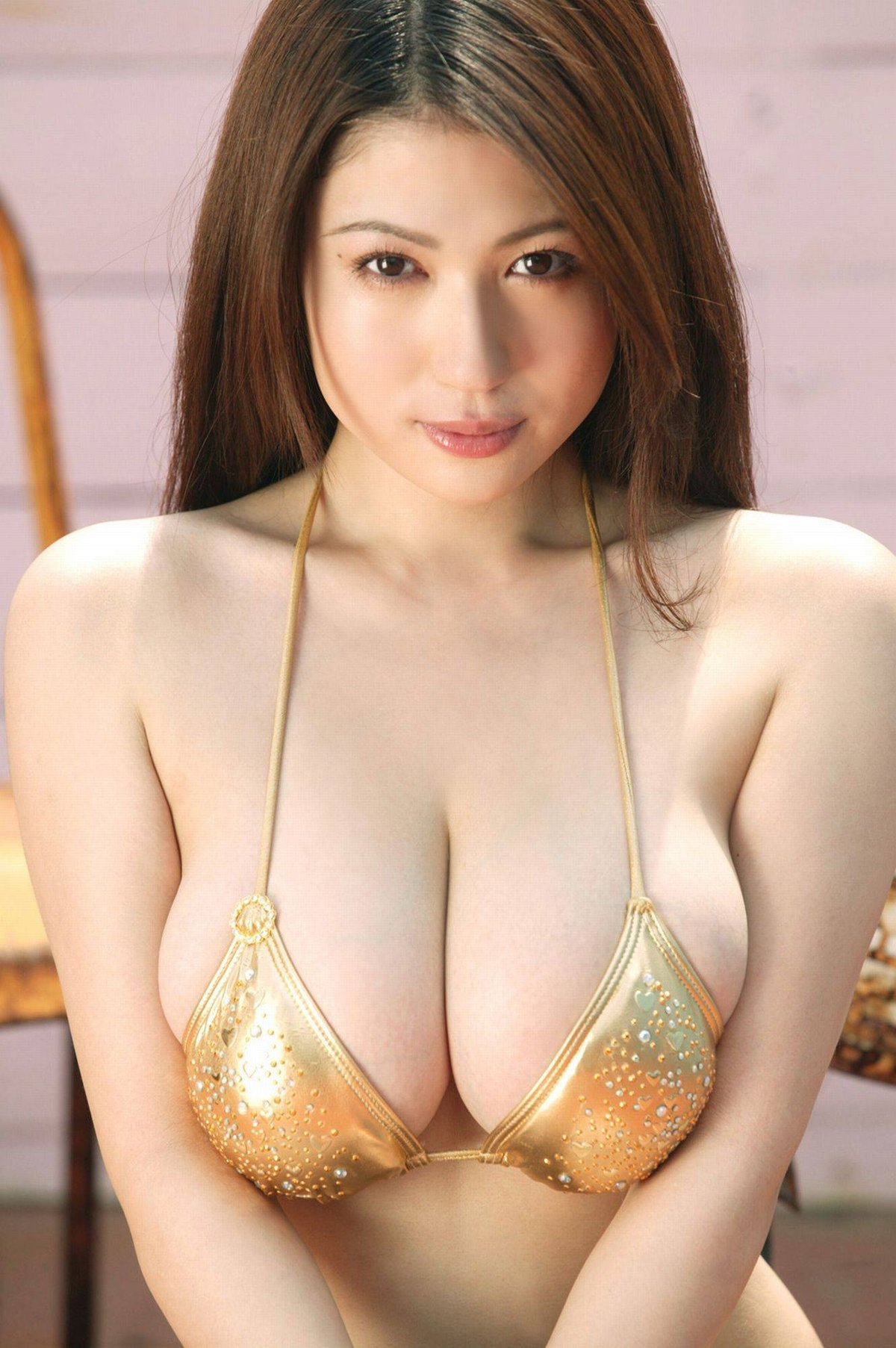 Bare asian breasts — photo 11