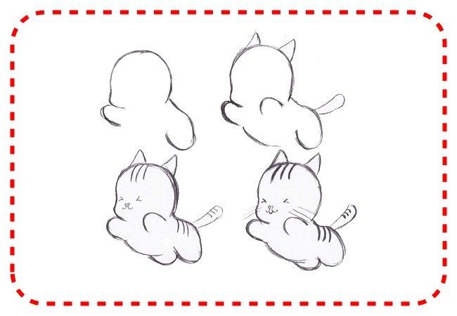Картинки, легкие прикольные рисунки карандашом поэтапно для начинающих