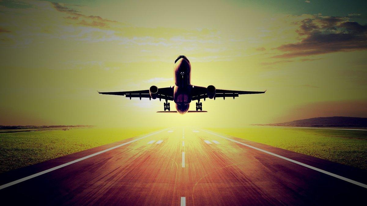 Красивые картинки взлета самолетов