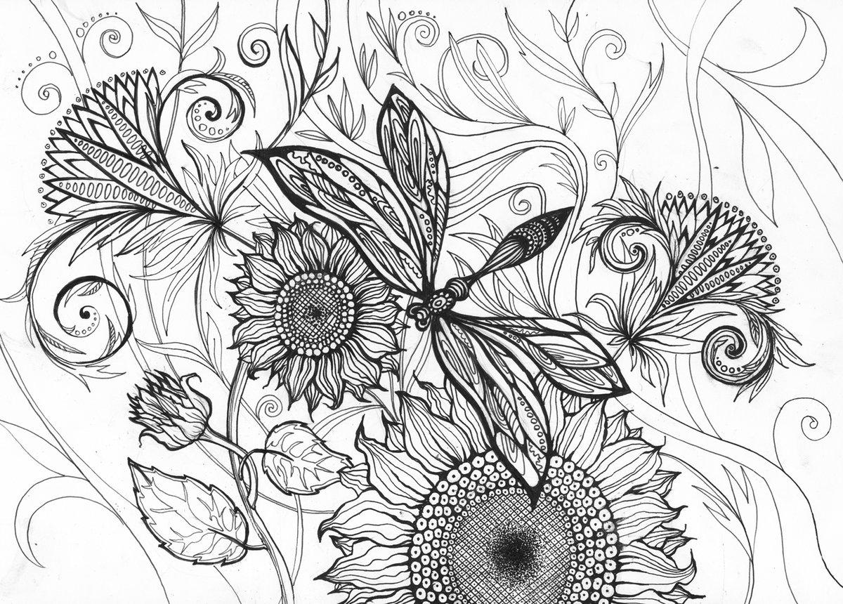 Графика рисунки для начинающих черной гелевой ручкой