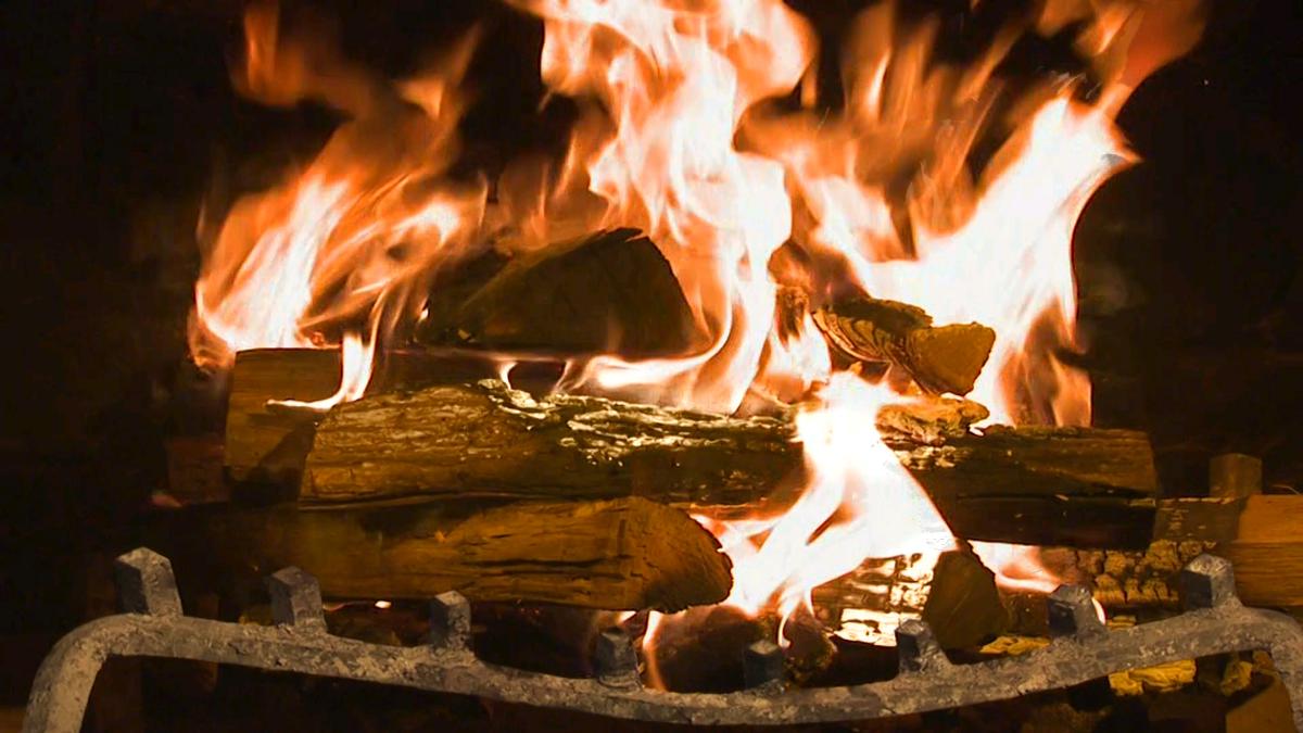 что анимация огня в камине фото обратит господь лице
