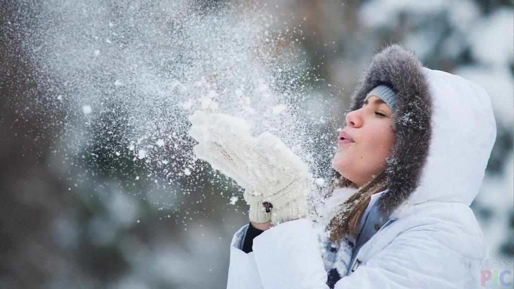 Картинки счастливых людей зимой, анимационные