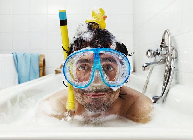Для, прикольные картинки с мужчинами в ванне