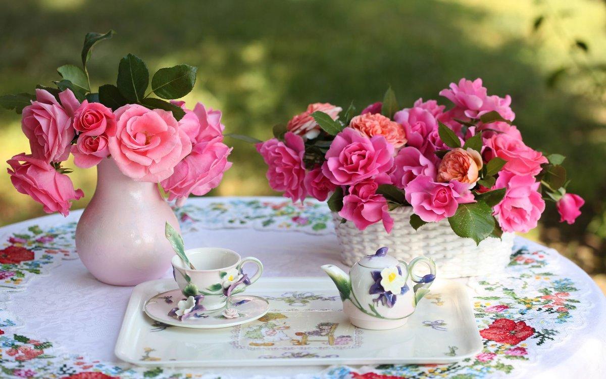 Картинки с надписью чудесного дня с цветами