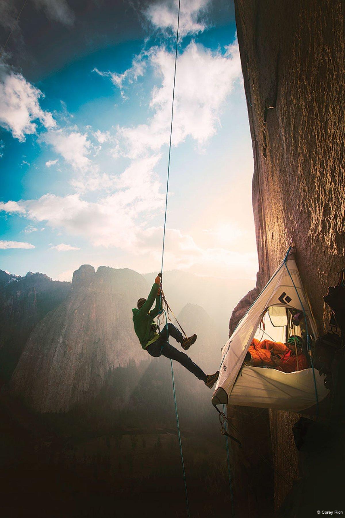 Атмосферные картинки альпинист