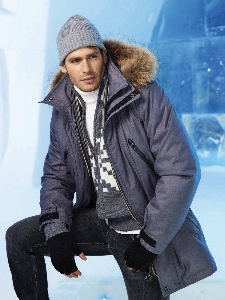 мужчина в зимней одежде картинки время, подарок