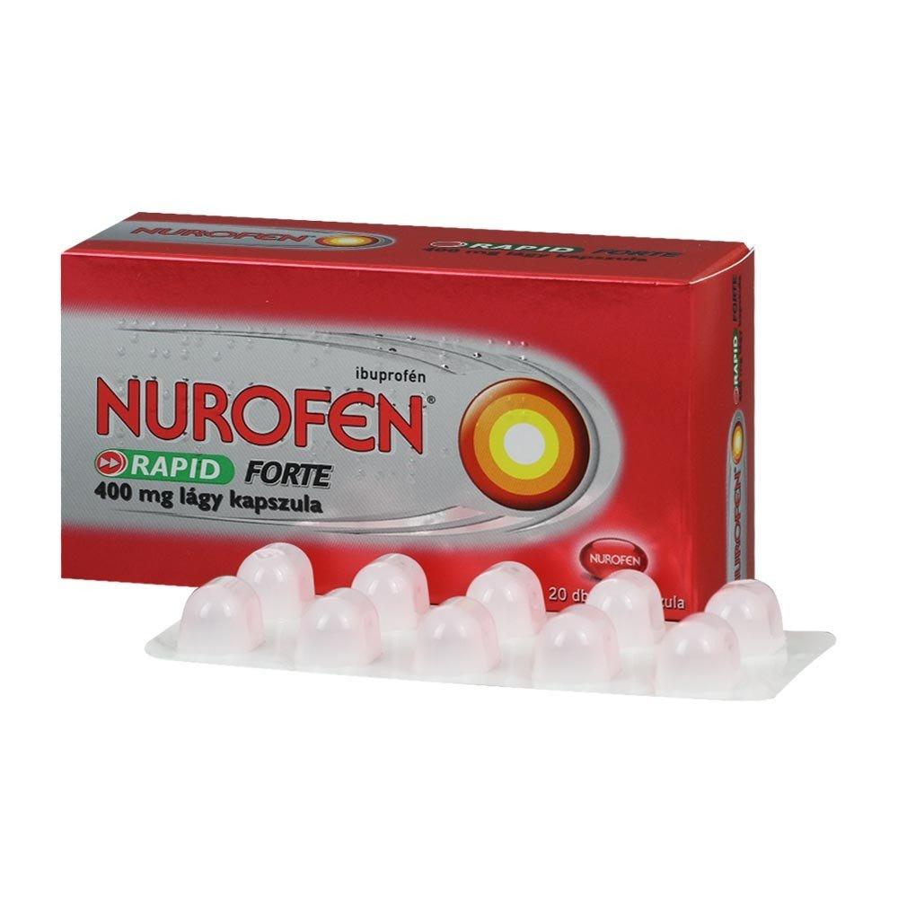 Нурофен помогает от головы