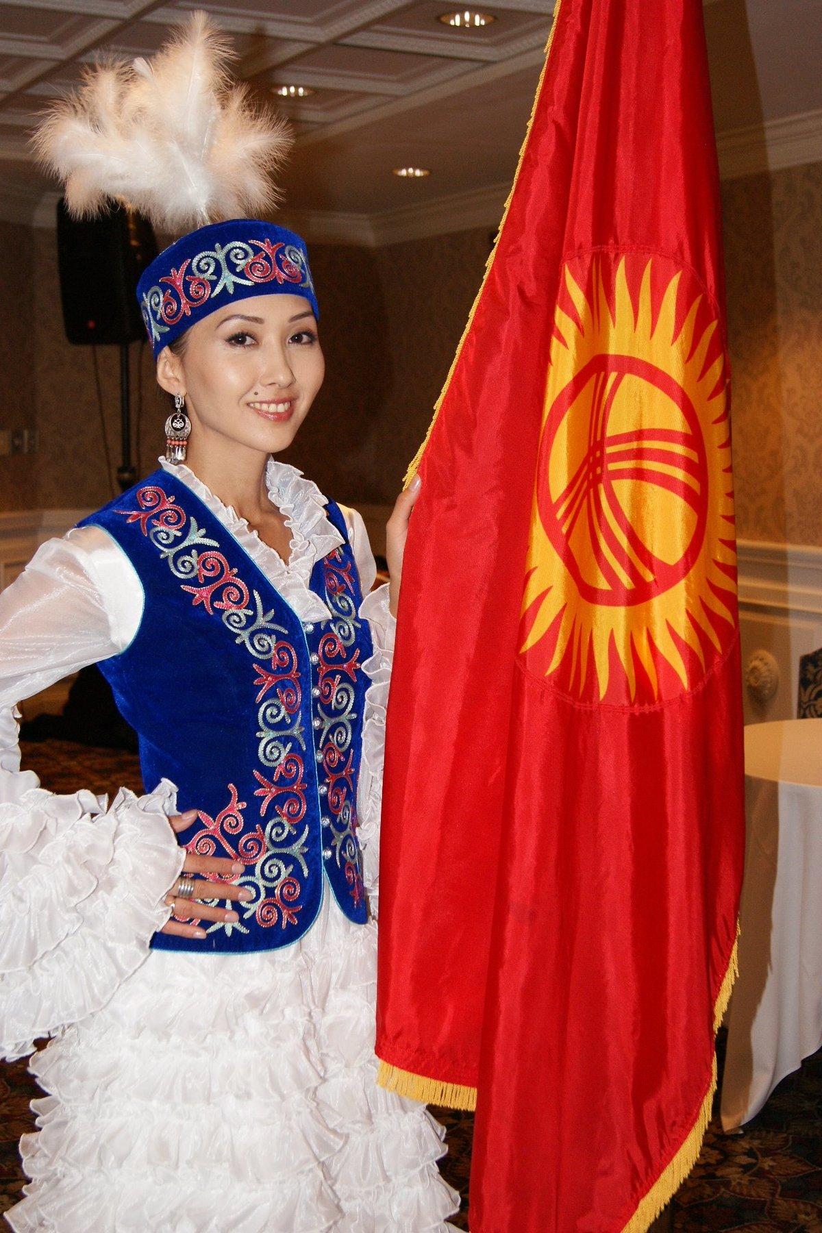 киргизская национальная одежда картинки все ограничения сняты