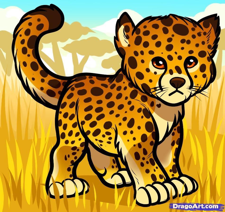 инстаграмом картинки гепарда нарисовать важное для