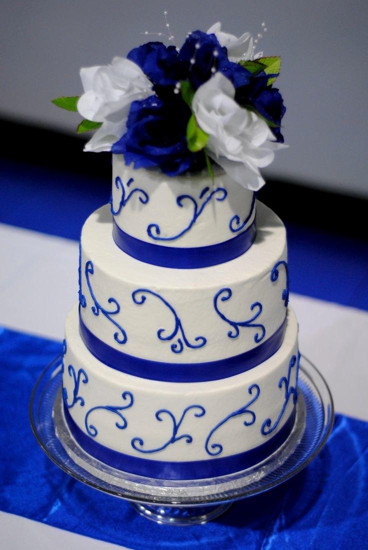 Богатый синий цвет