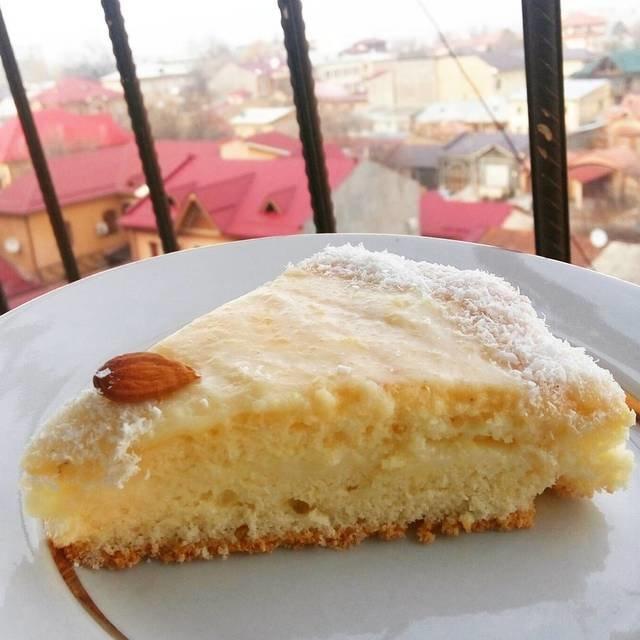 бисквитный торт с заварным кремом рецепт фото данный