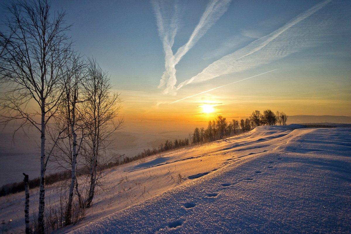 мое зимнее утро картинки малюсенький клочок