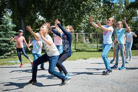 Летний лагерь - 2018. Подвижные игры на улице