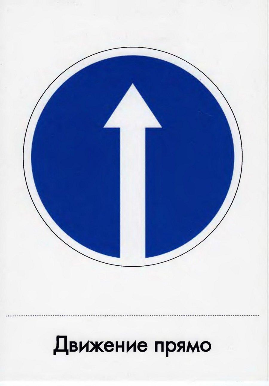 Покажи картинки дорожных знаков
