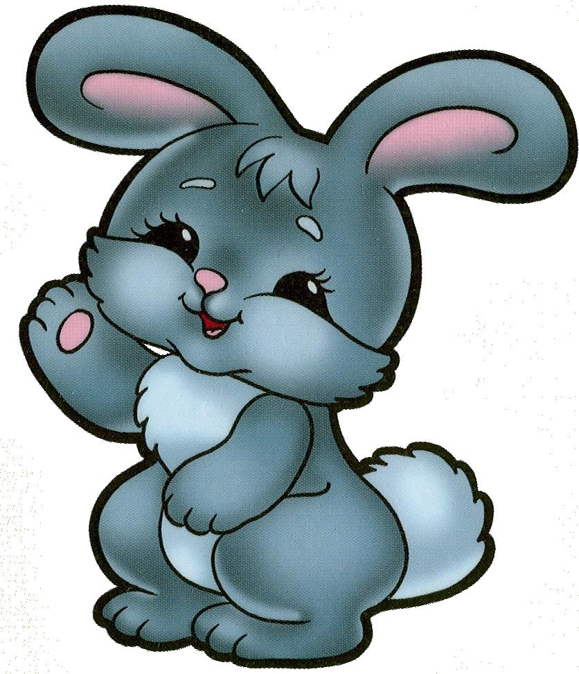 Любимая, картинка веселого зайца