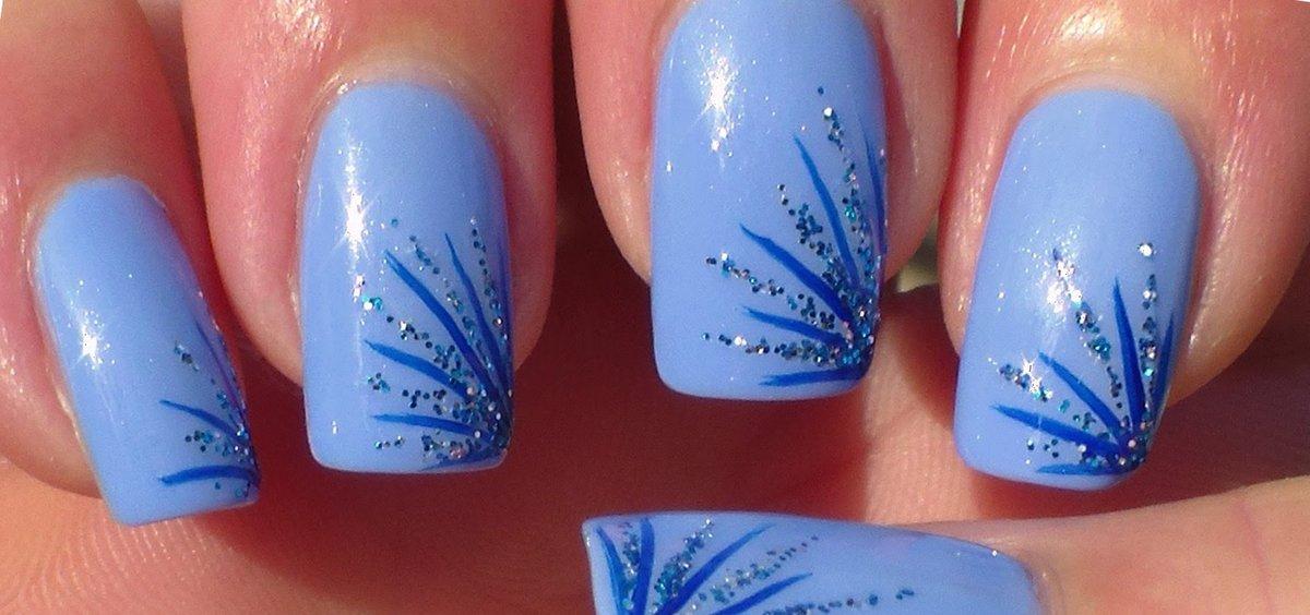 Зимние картинки на ногти