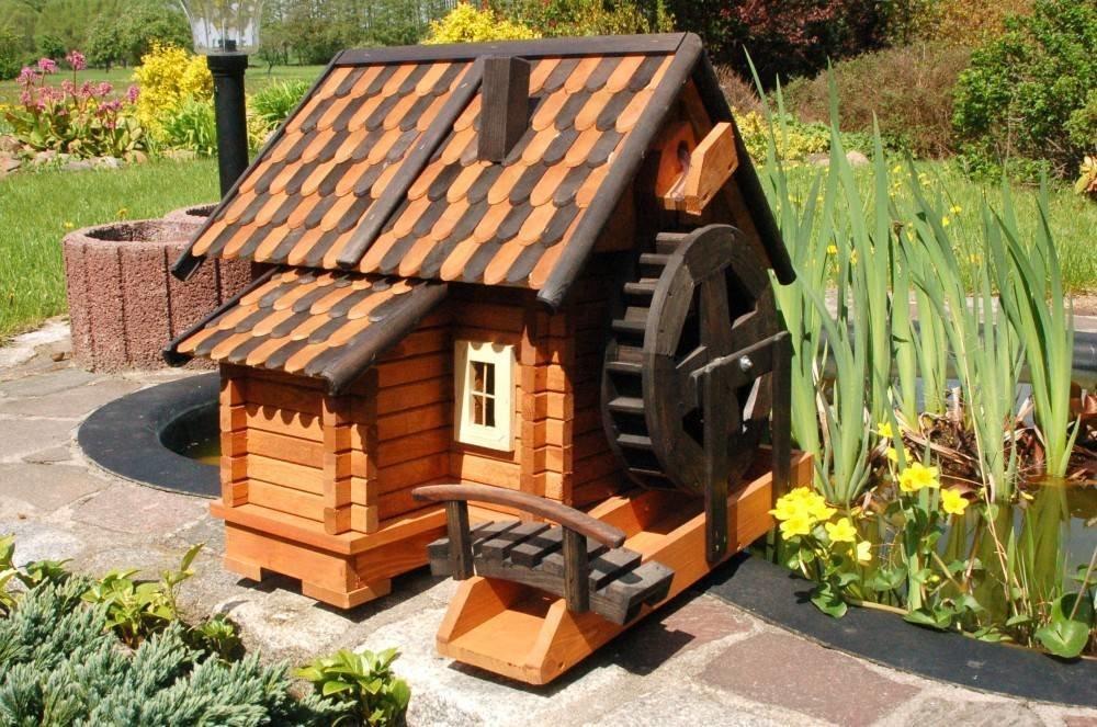 декоративные водяные мельницы фото деревенщина мало чем