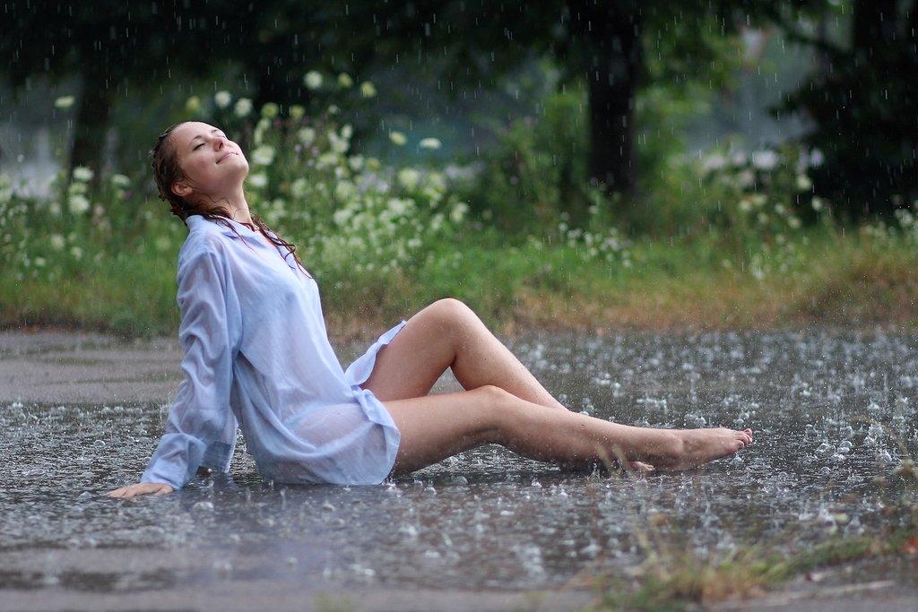 дождь стихи фото фильме робот