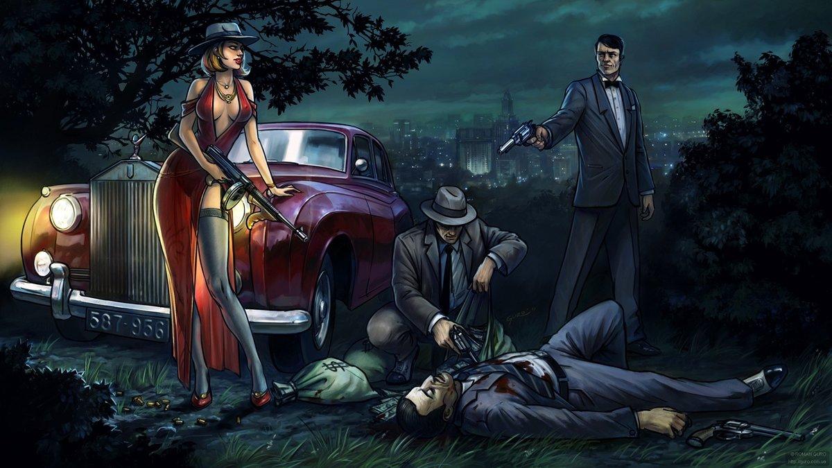 Картинки на тему бандитки