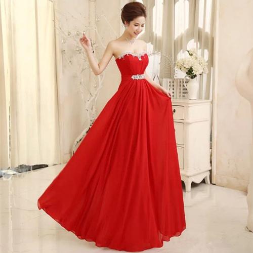 «Элегантное стильное длинное в пол вечернее красное платье без бретелек с  вырезом сердечком 3358d3fcebe66