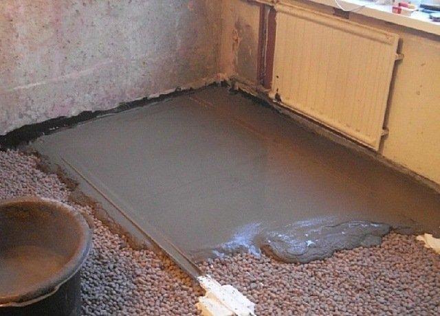 как сделать наливные полы в частном доме