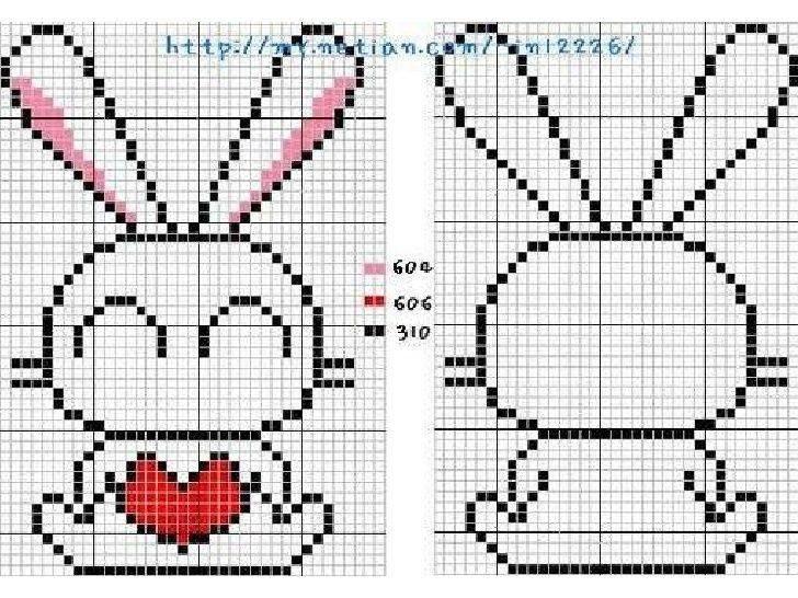 Схемы шаблоны, вышивки картинки легкие