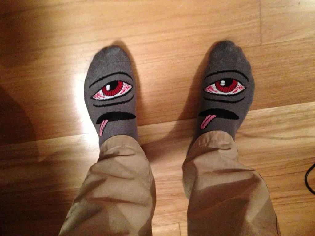Прикольная картинка носка