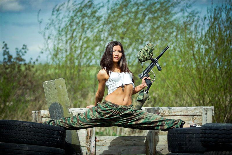 Paintball sexy — pic 7