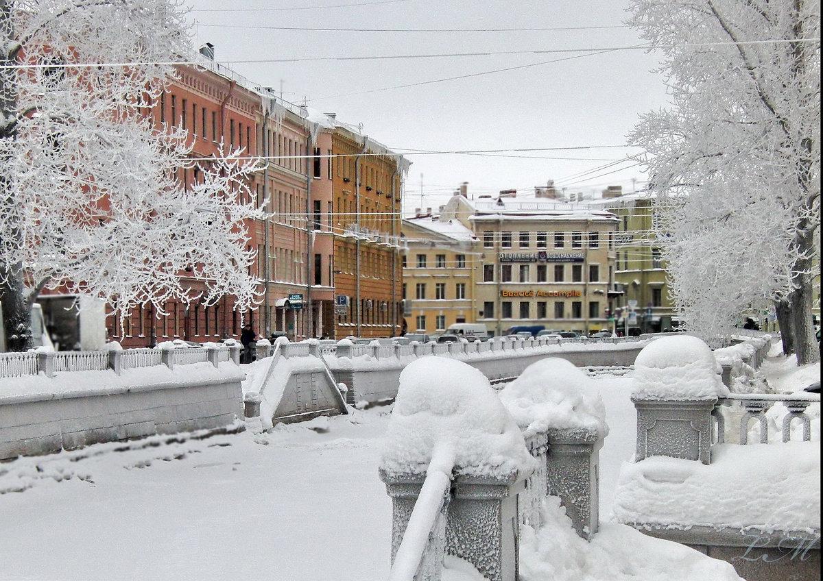 Зимние картинки зима в городе