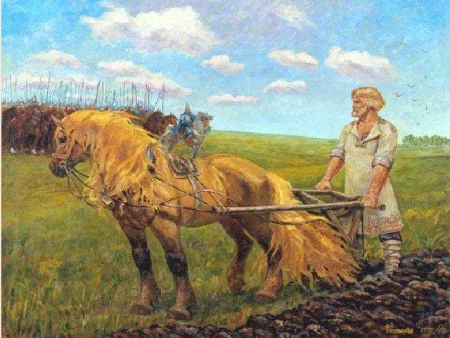 Картинки крестьянина древней руси, открытку поздравления