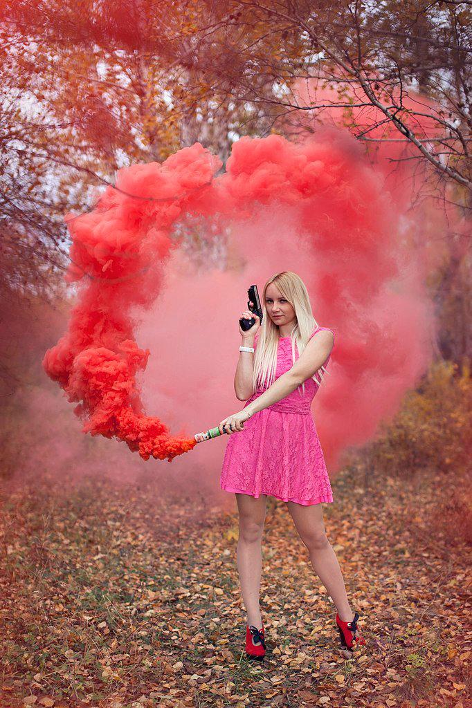 настоящее время цветной дым какой лучше для фотосессии может