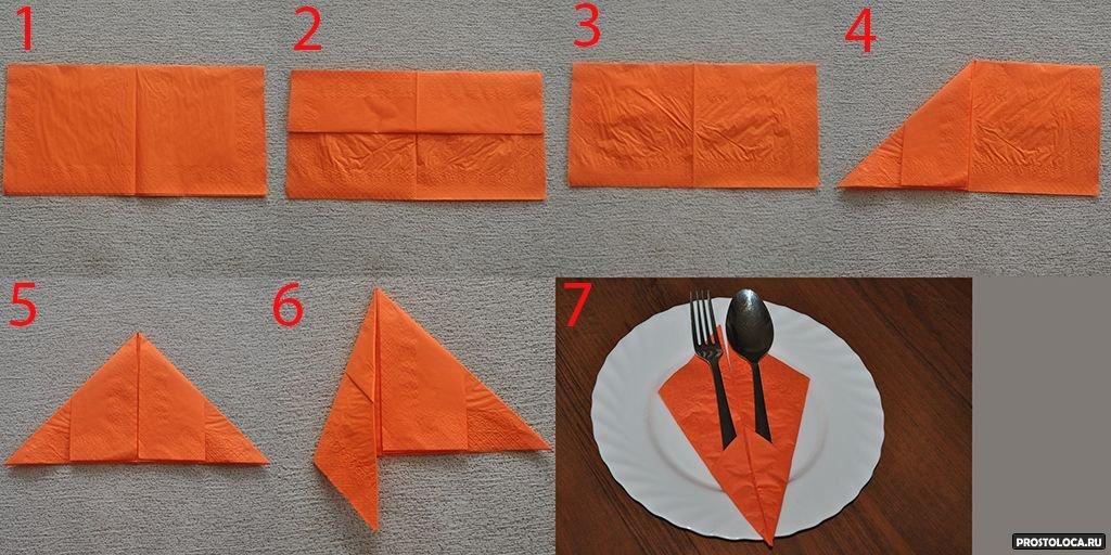картинки как делать салфетки скидки