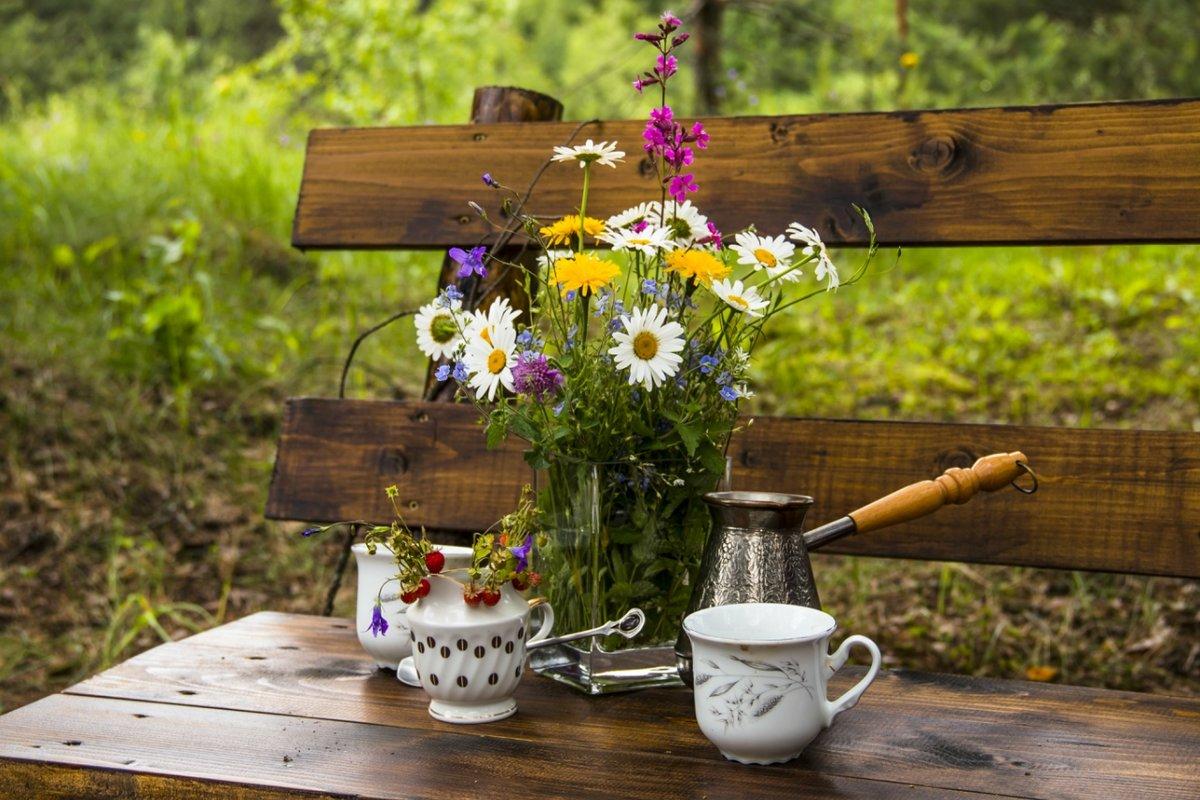 фото кофе на даче красоты