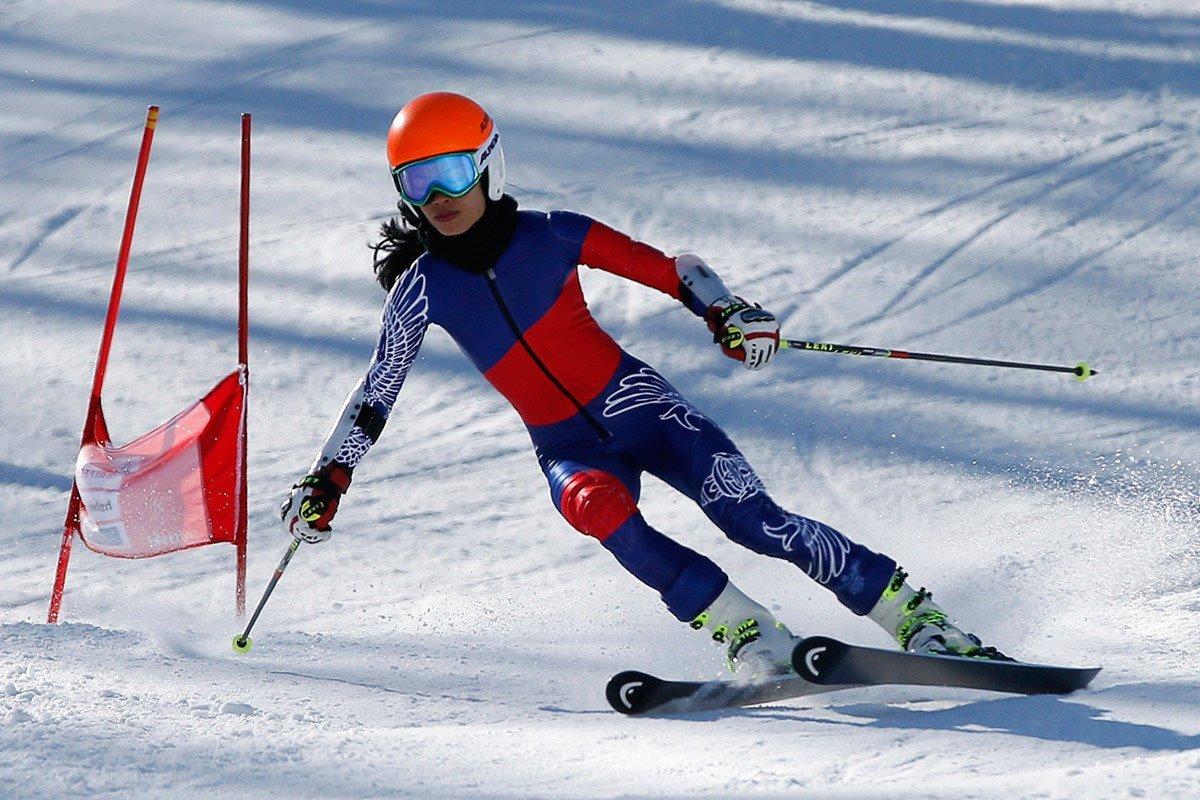 Картинка горнолыжный спорт