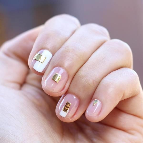 Потрясающий «голый» дизайн ногтей 2018-2019 года в стиле «negative ...