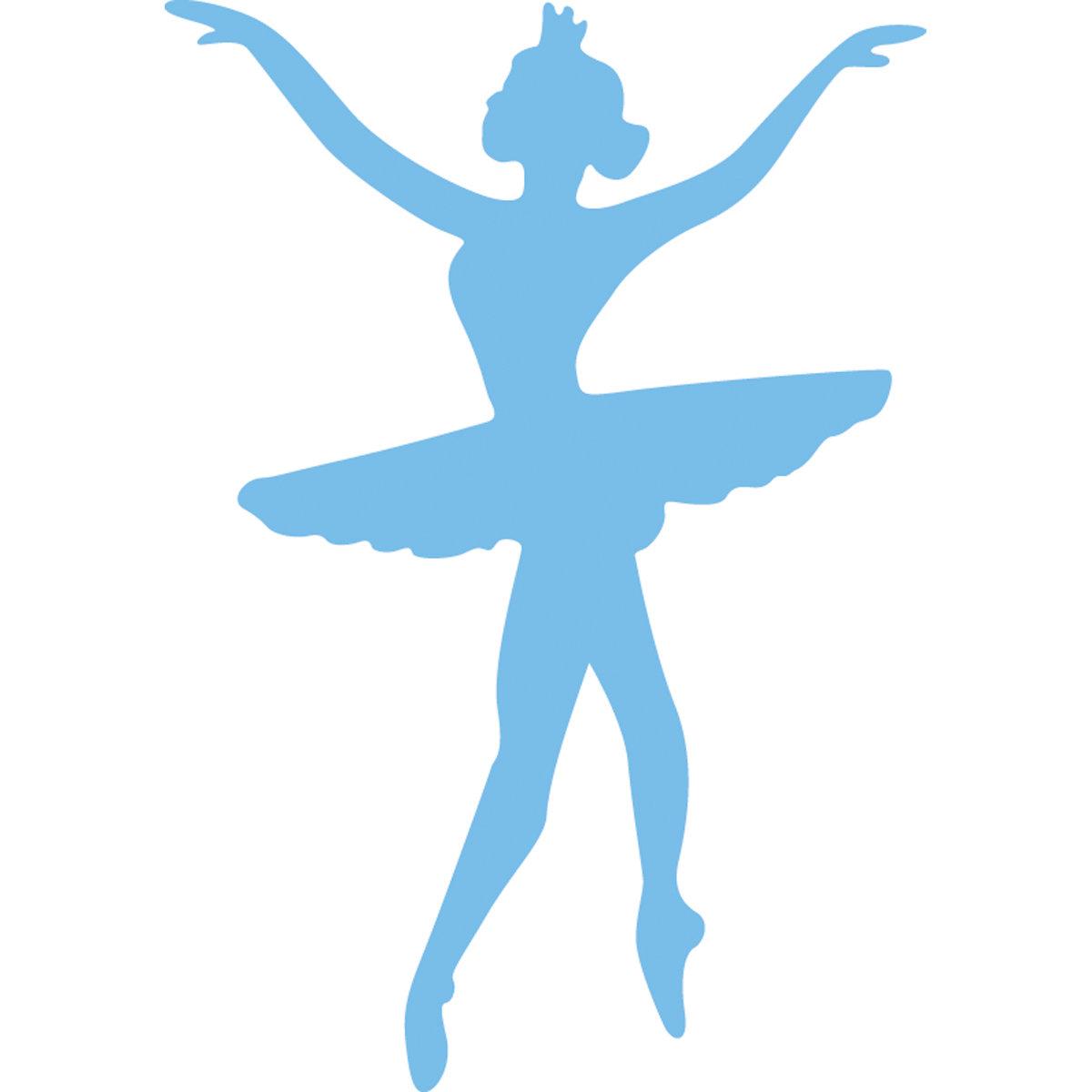 шаблон балерины из бумаги картинка