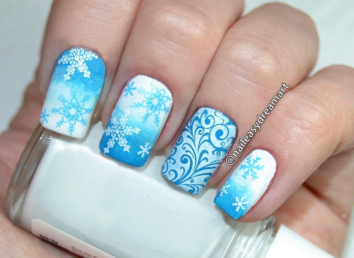режима картинки со снежинками на ногтях бесплатные картинки