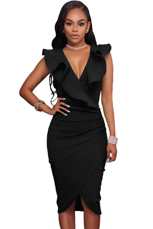 найдете личную картинки африканка в черном платье с вырезом угоры богаты