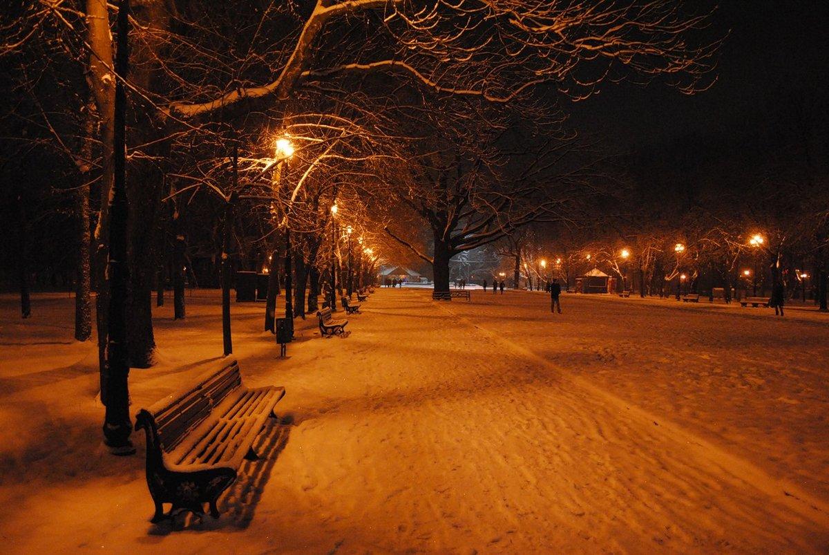 картинки город зима ночь решила