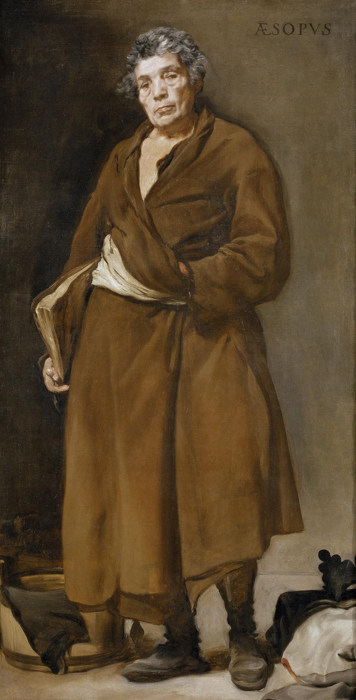 «Эзоп». Картина Диего Веласкеса (1639—1640)