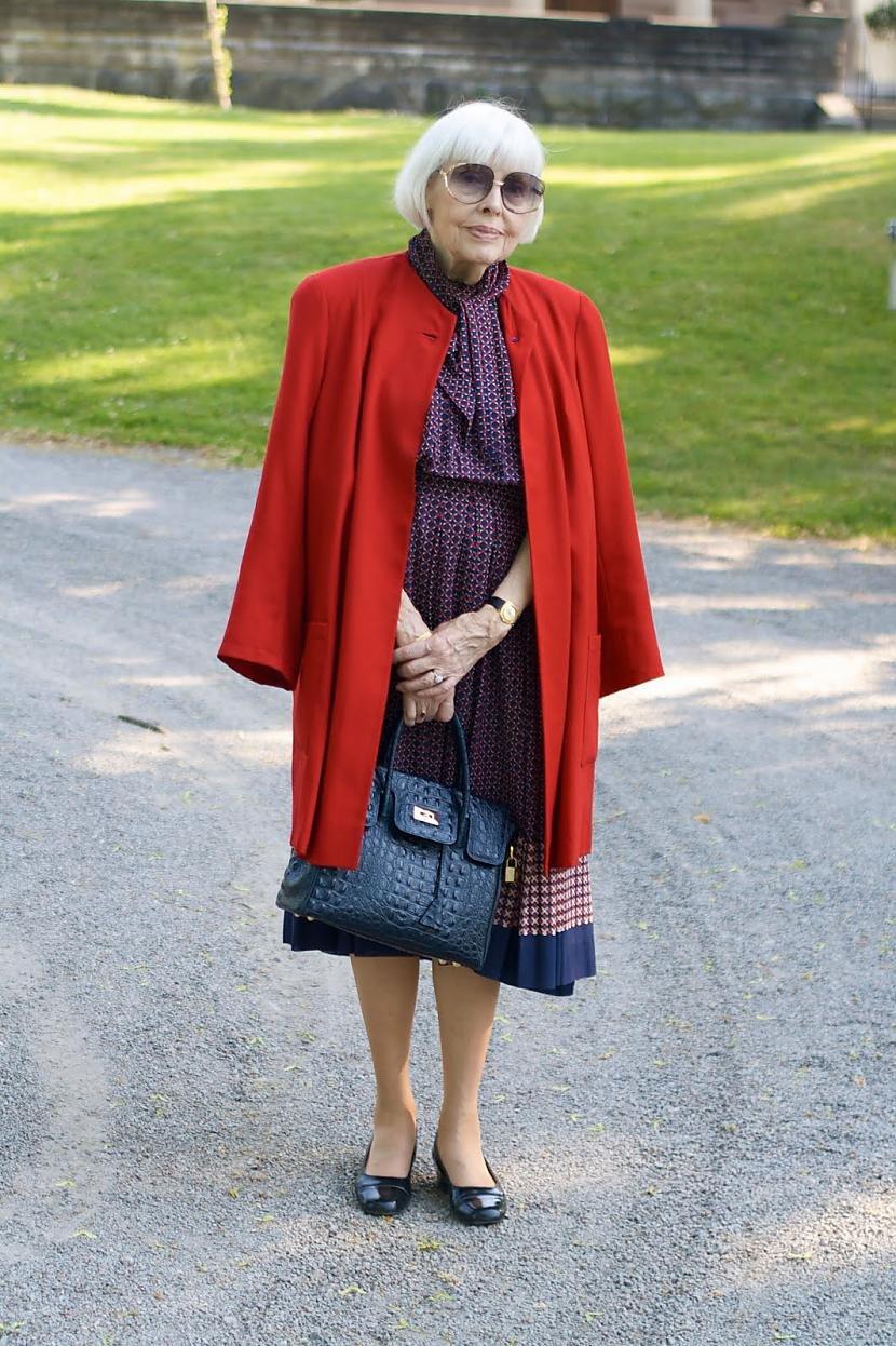 мода для пожилых полных дам с фото были времена самом
