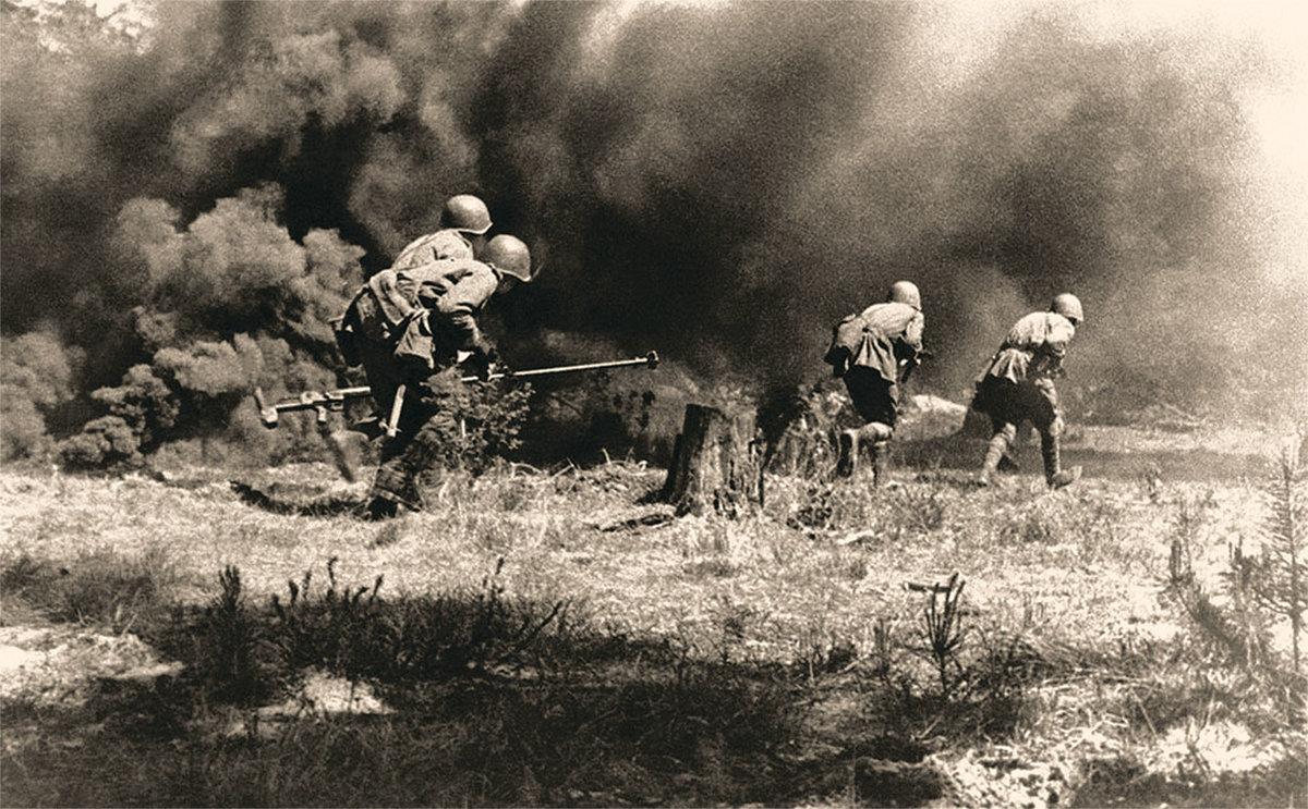 Великая отечественная война 1941-1945 картинки сражений