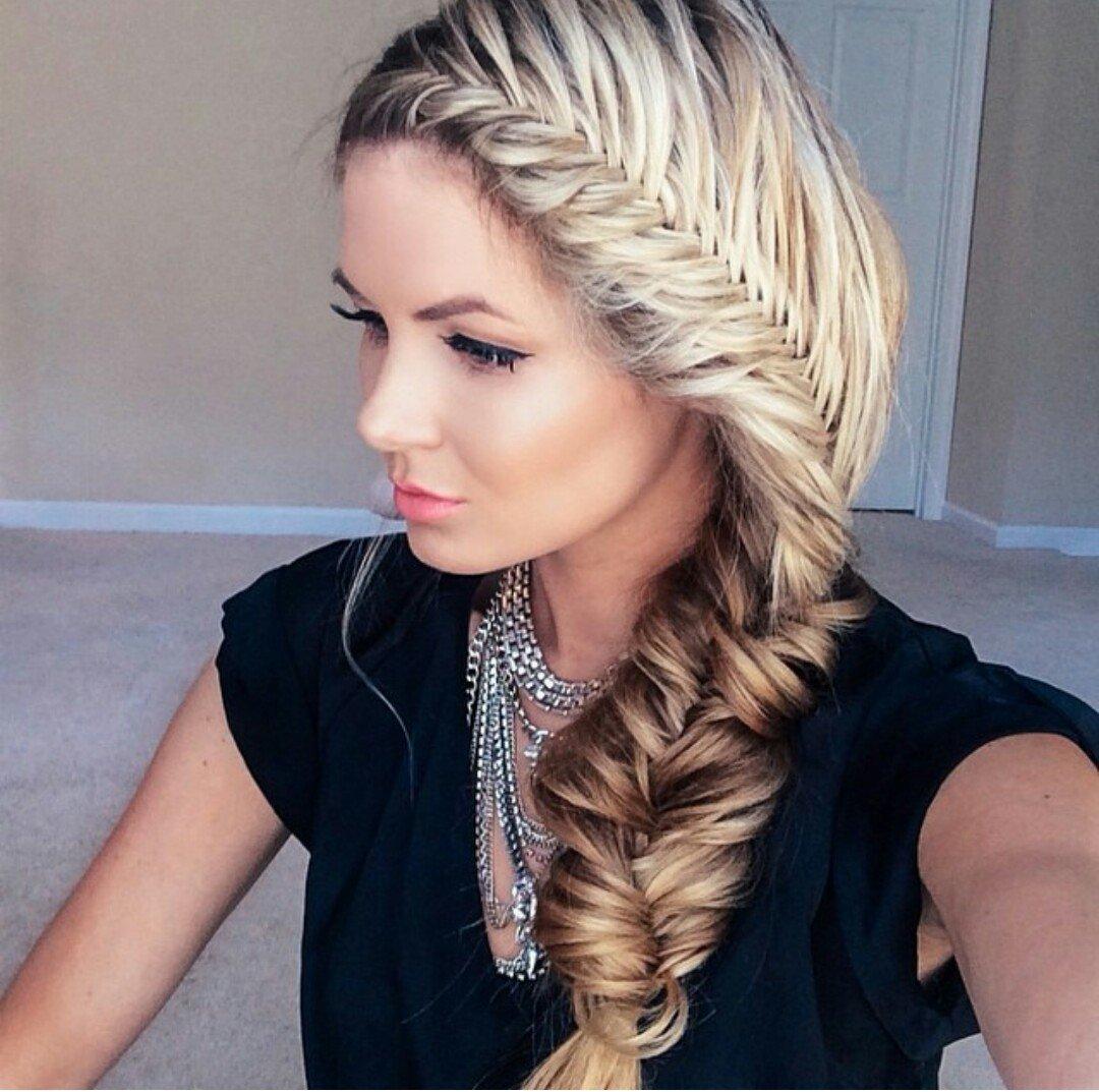 нас красивые плетения на длинные волосы фото милости