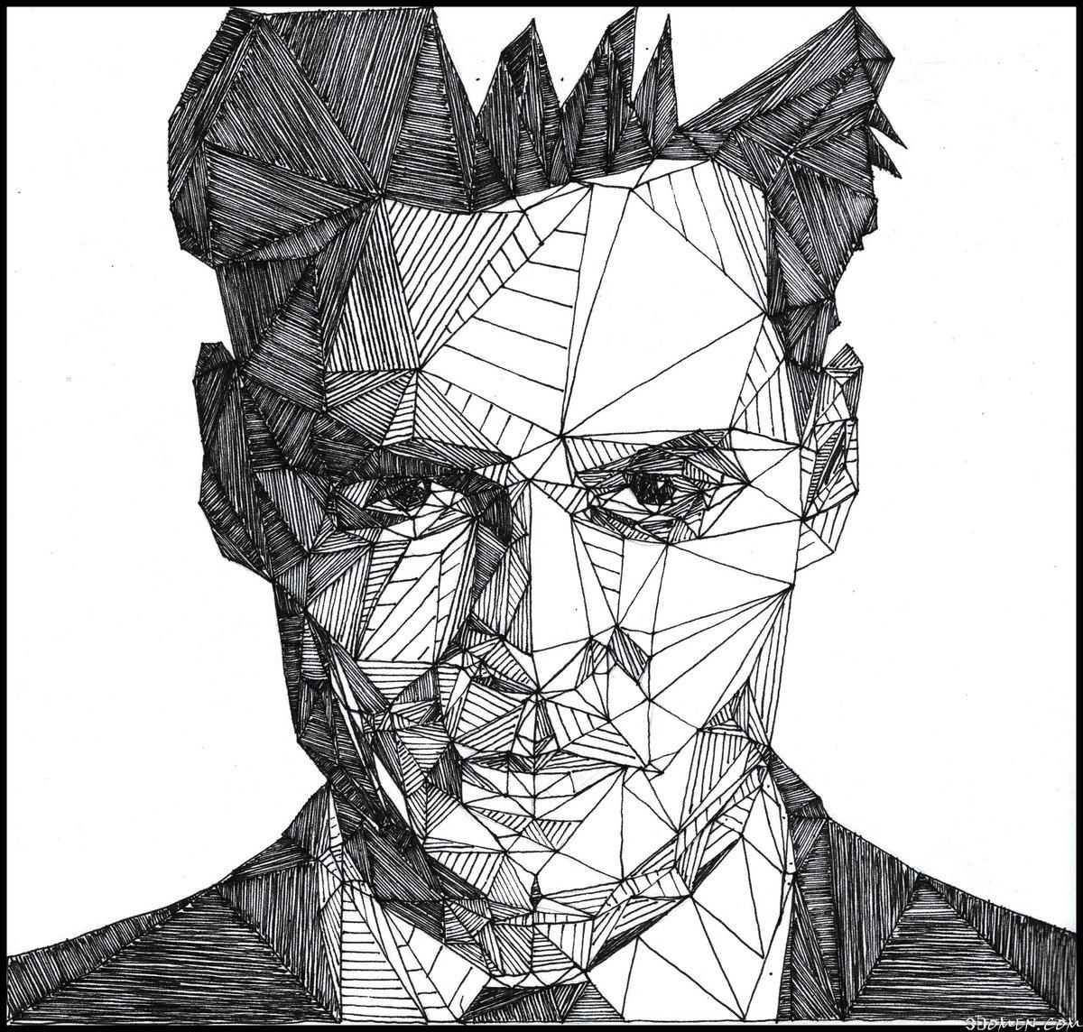 Геометрические рисунки карандашом сложные