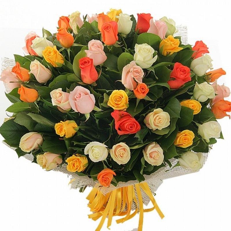 Магазин цветов, красивый букет на день рождение