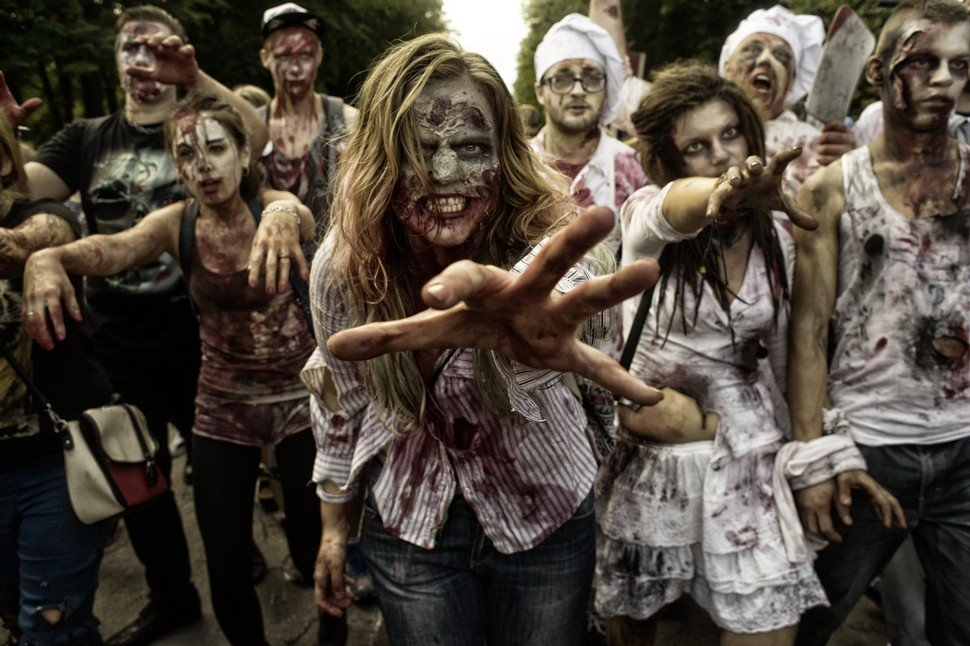 Все про зомби картинки