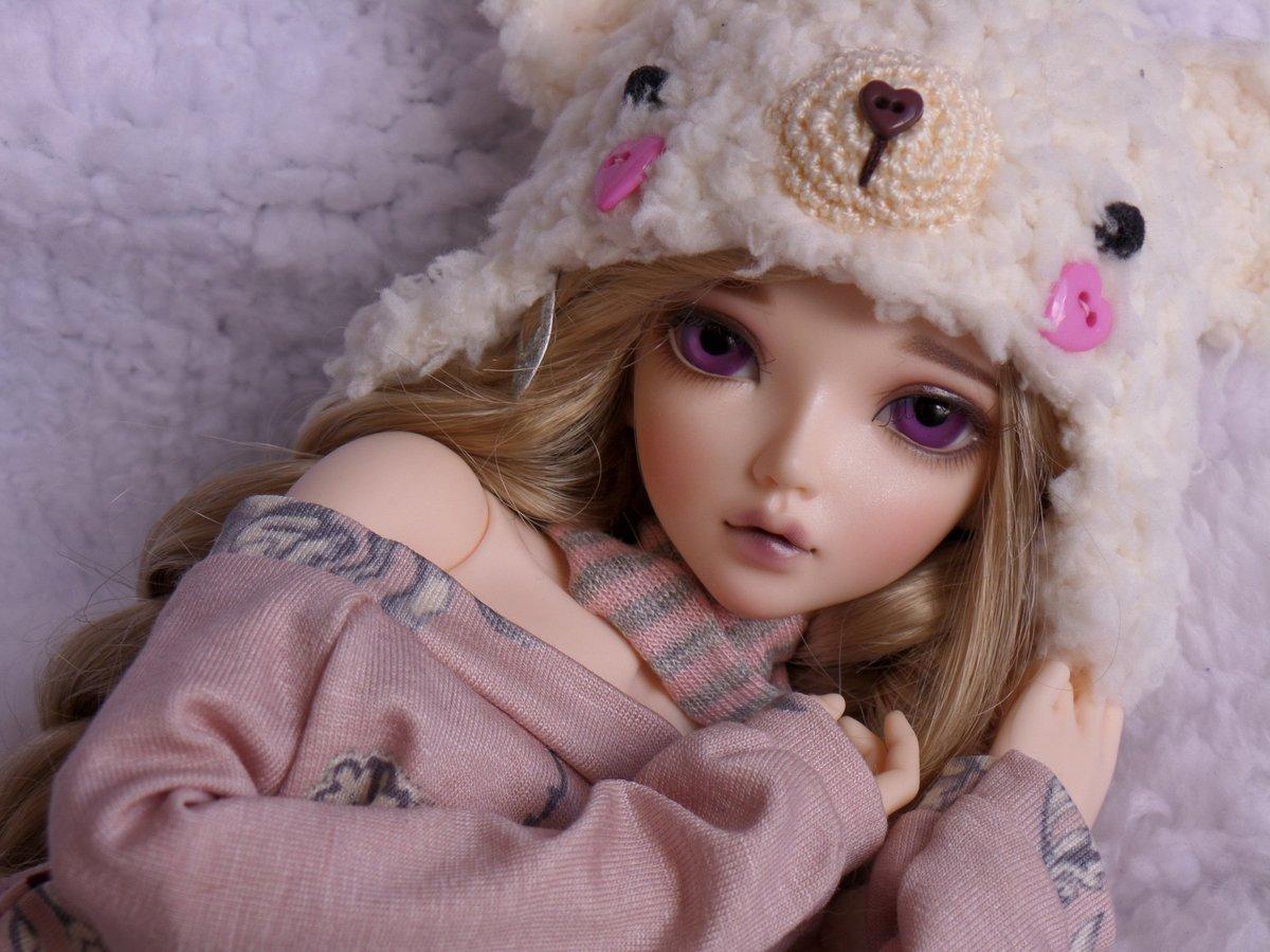 Картинка девушки кукольной